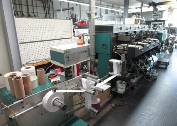 NILPETER FA 240 A -4color FLEXO